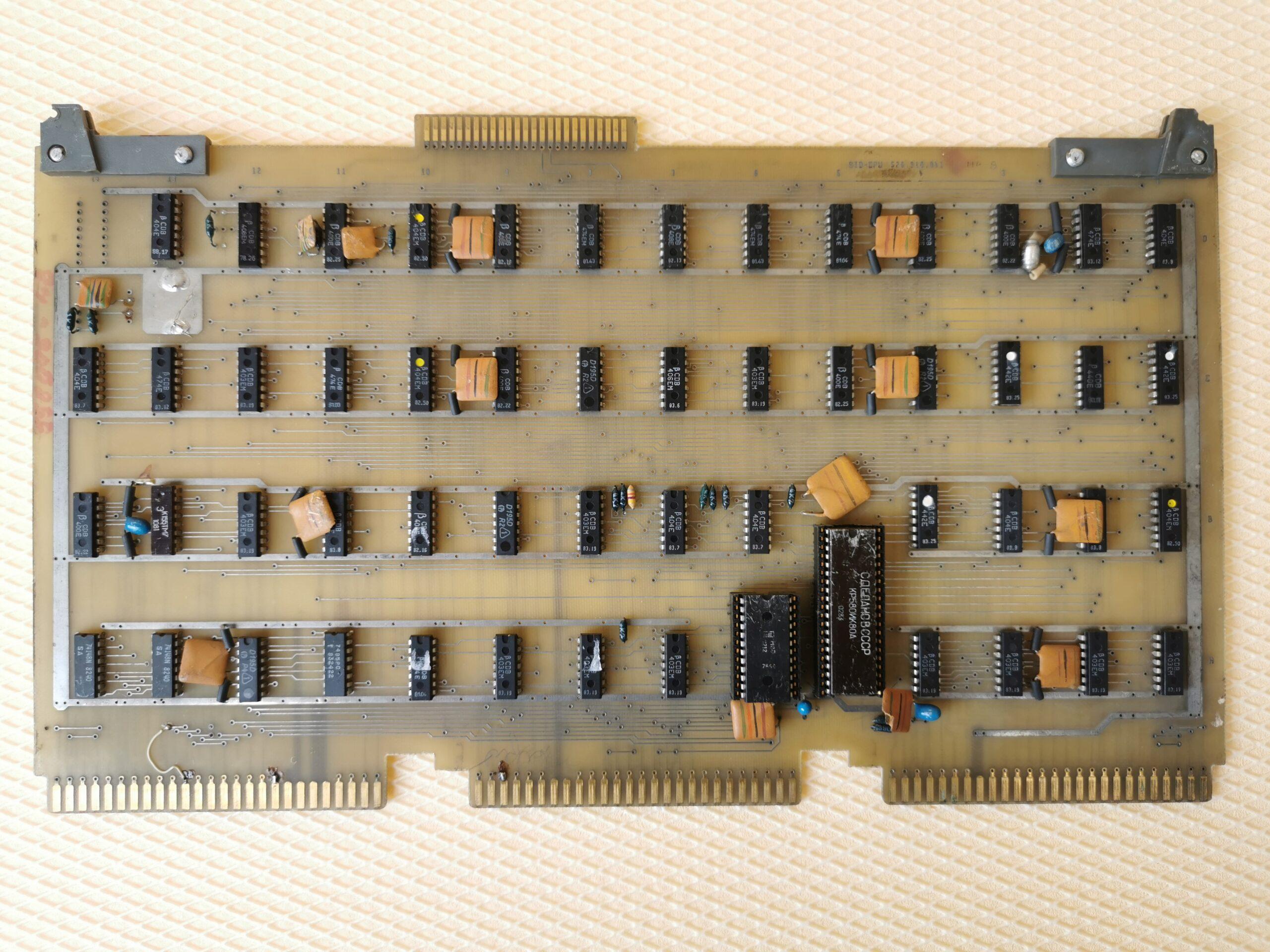 Placa procesor
