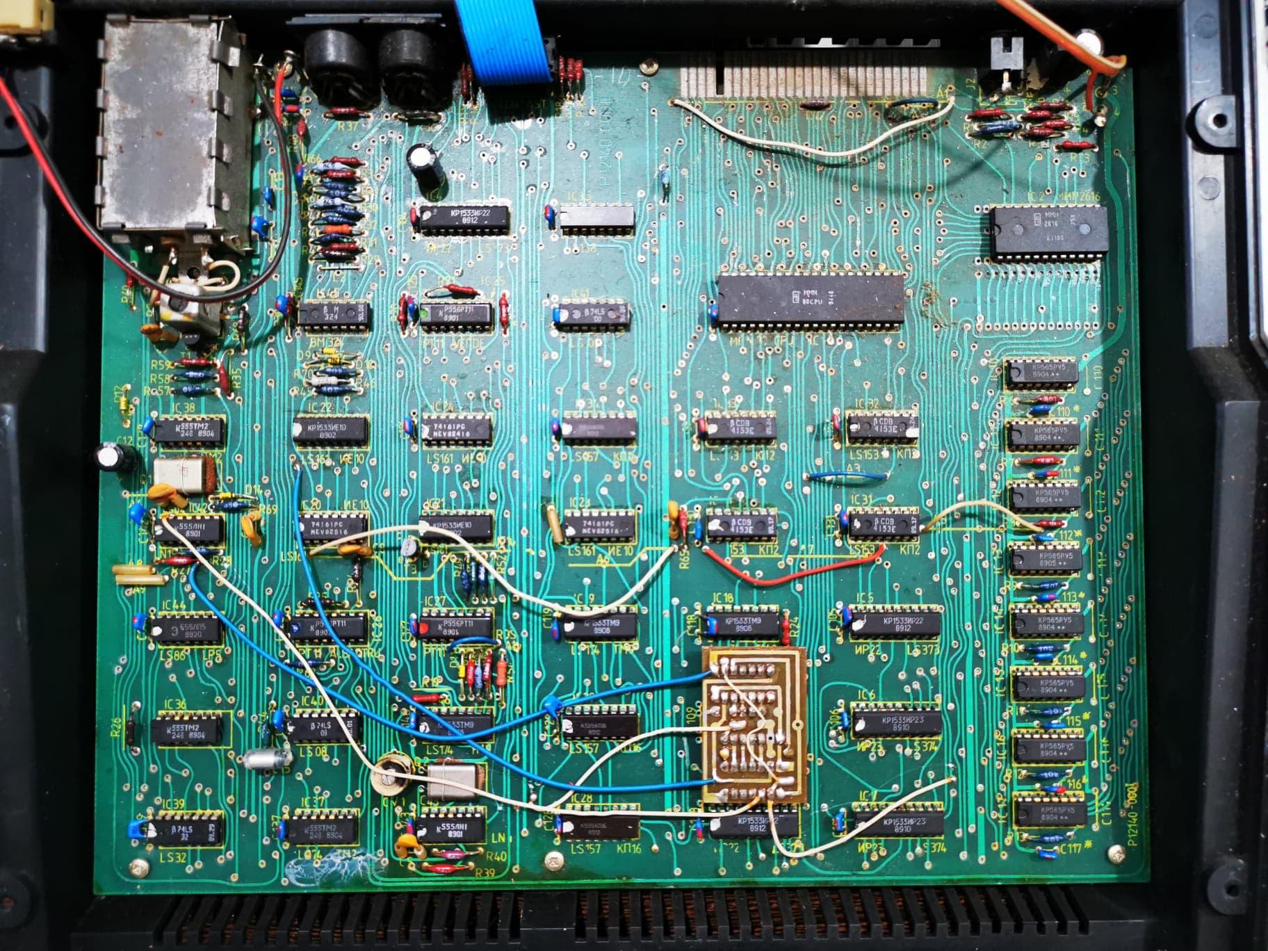 Placa de baza CIP 01